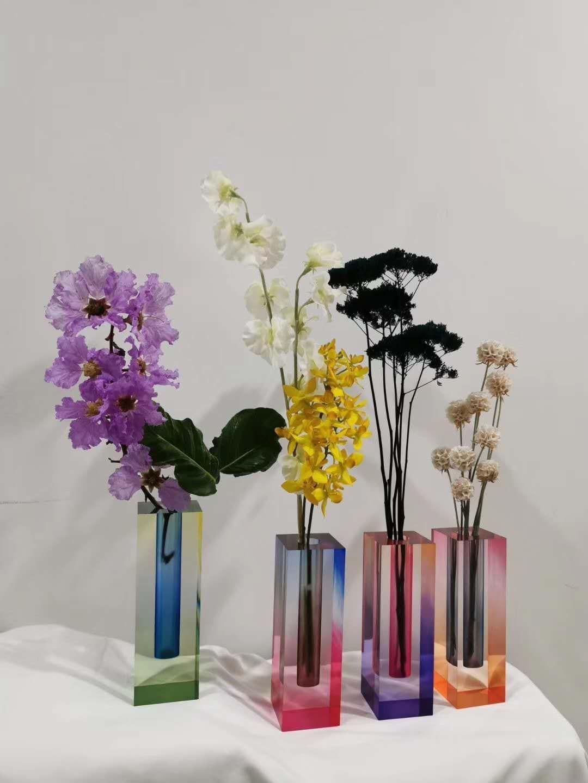 渐变染色花瓶 2