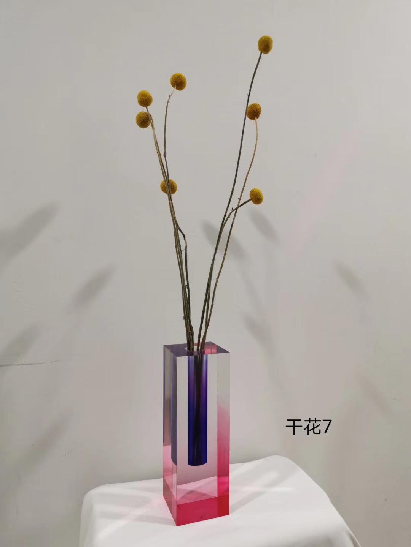 渐变染色花瓶 4