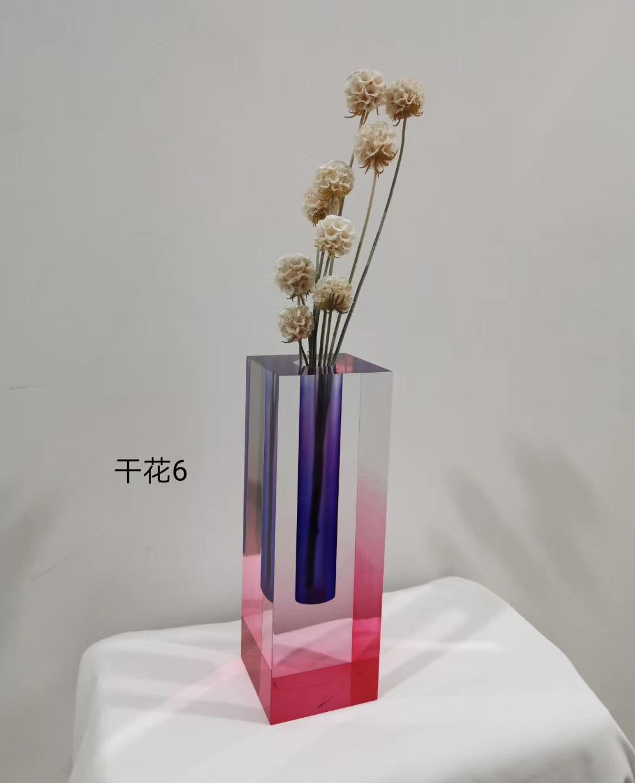 渐变染色花瓶 6