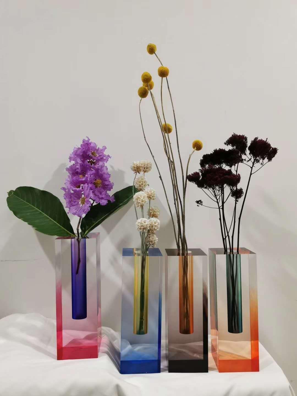 渐变染色花瓶 7