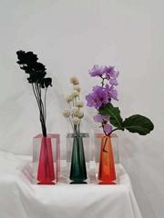 2019 newly designed acrylic colored vase (Hot Product - 1*)