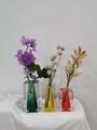 2019 newly designed acrylic colored vase