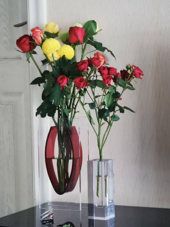 亞克力創意家居擺件工藝品裝飾花瓶 5