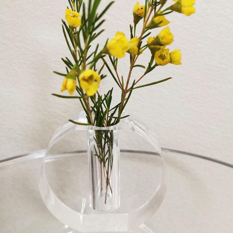 亞克力創意家居心形花瓶 3