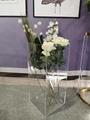 亚克力大号透明几何落地式花瓶