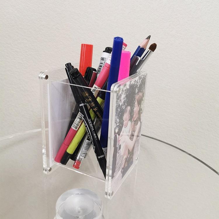 亚克力相框笔筒 2