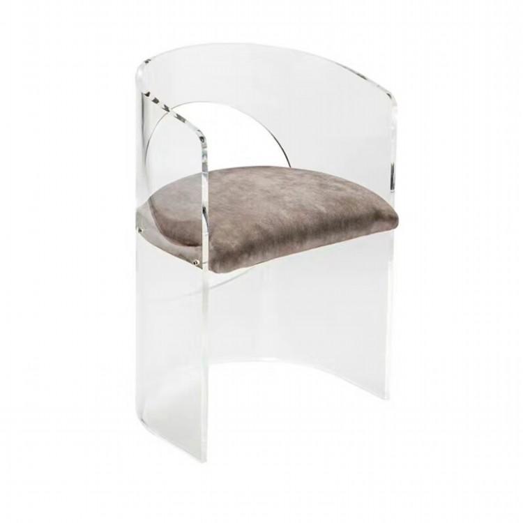 亚克力热弯弧形椅 4