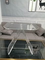 acrylic transparent stool