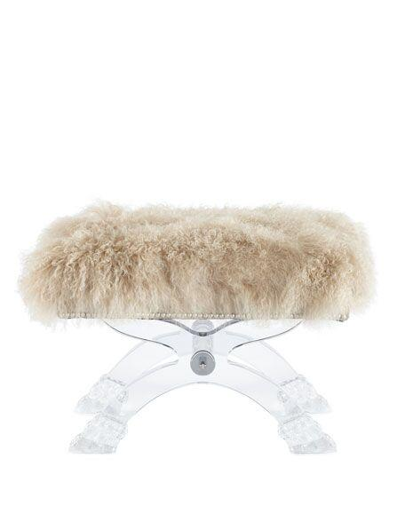 acrylic transparent stool  4