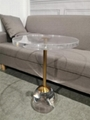 full transparant acrylic coffee table