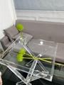 PLEXIGLASS ACRYLIC CLEAR  COFFEE TABLE 3