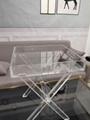 PLEXIGLASS ACRYLIC CLEAR  COFFEE TABLE 4