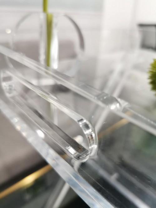 PLEXIGLASS ACRYLIC CLEAR  COFFEE TABLE 6