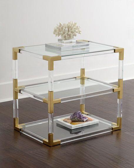 New design Metal and acrylic bookshelf display 4