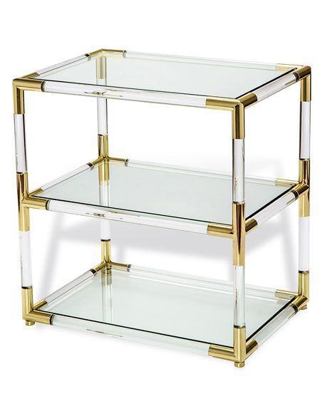New design Metal and acrylic bookshelf display 5