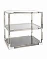 New design Metal and acrylic bookshelf display 6