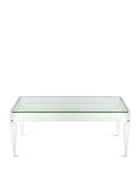 latest design Modern Transparent Acrylic Dining table  3