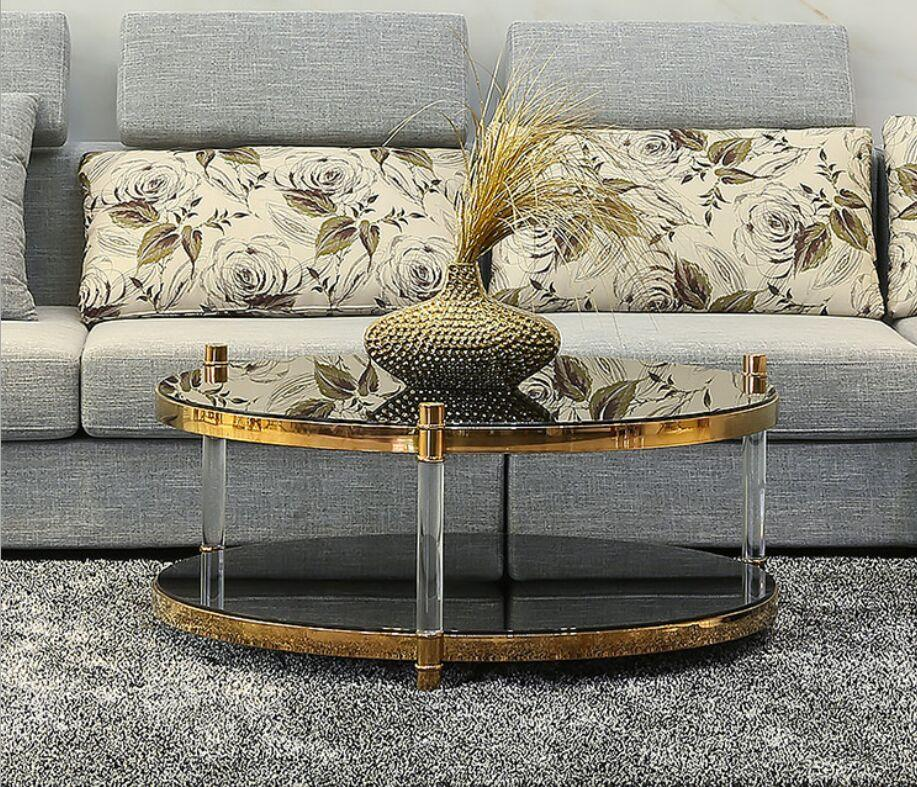 ACRYLIC ROUND SIDE TABLE, PLEXIGLASS SIDE TABLE, PERSPEX SIDE TABLE 1