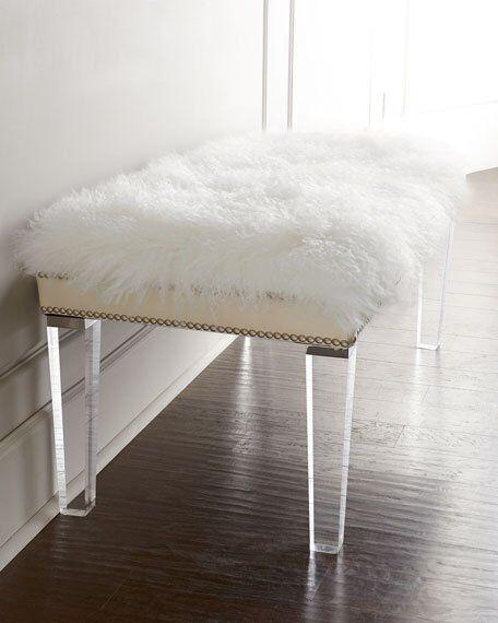 Acrylic bench 6