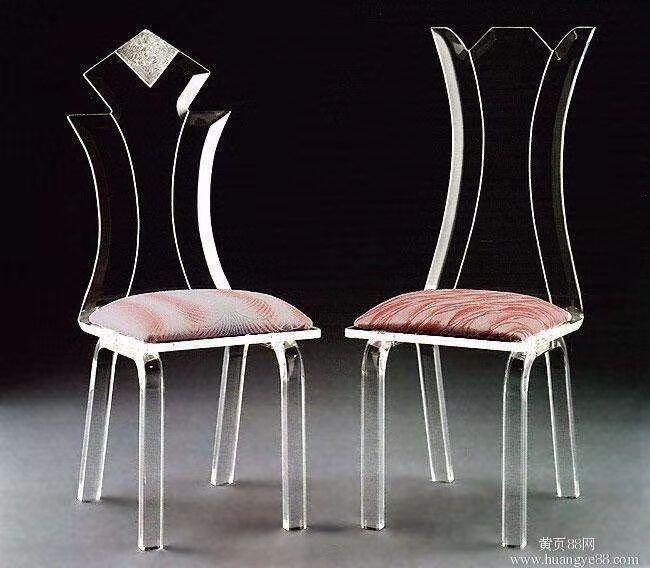 有機玻璃餐椅 2