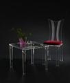 有机玻璃餐椅 3