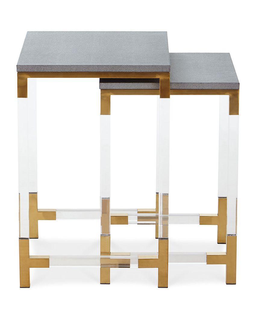 plexiglass lucite cofee table 4