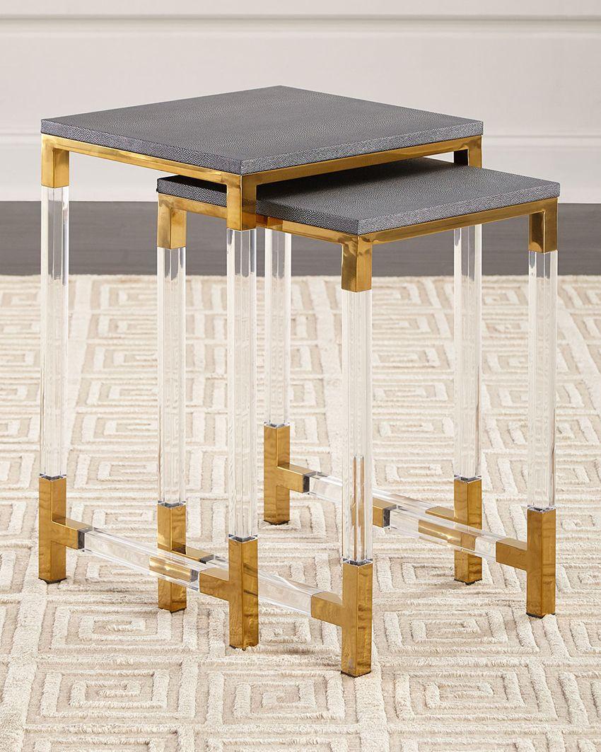 有機玻璃餐椅 1