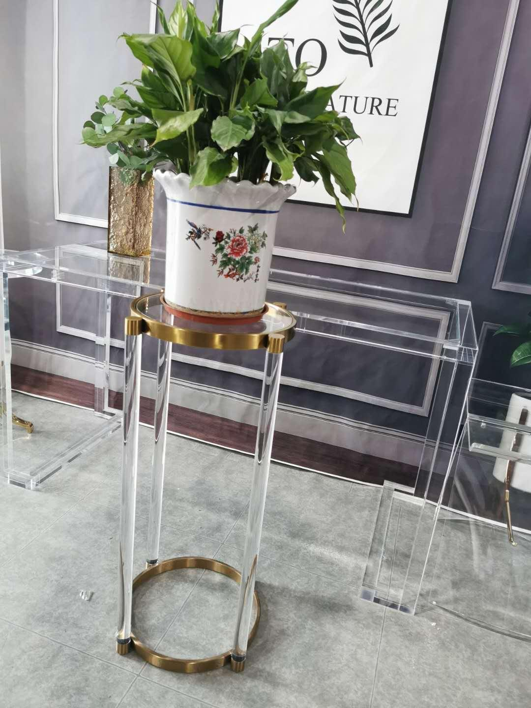 ACRYLIC FLOWER RACK, lucite flower stand 3