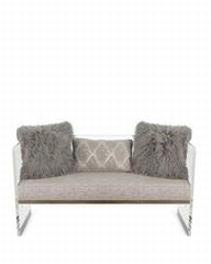 acrylic sofa chair  perpex glass sofa