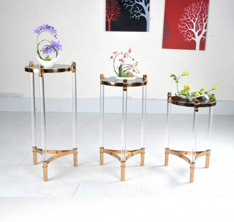 ACRYLIC FLOWER RACK, lucite flower stand 6