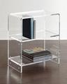 Acrylic Bedside bookcase