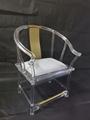 透明压克力古典中式椅子 2