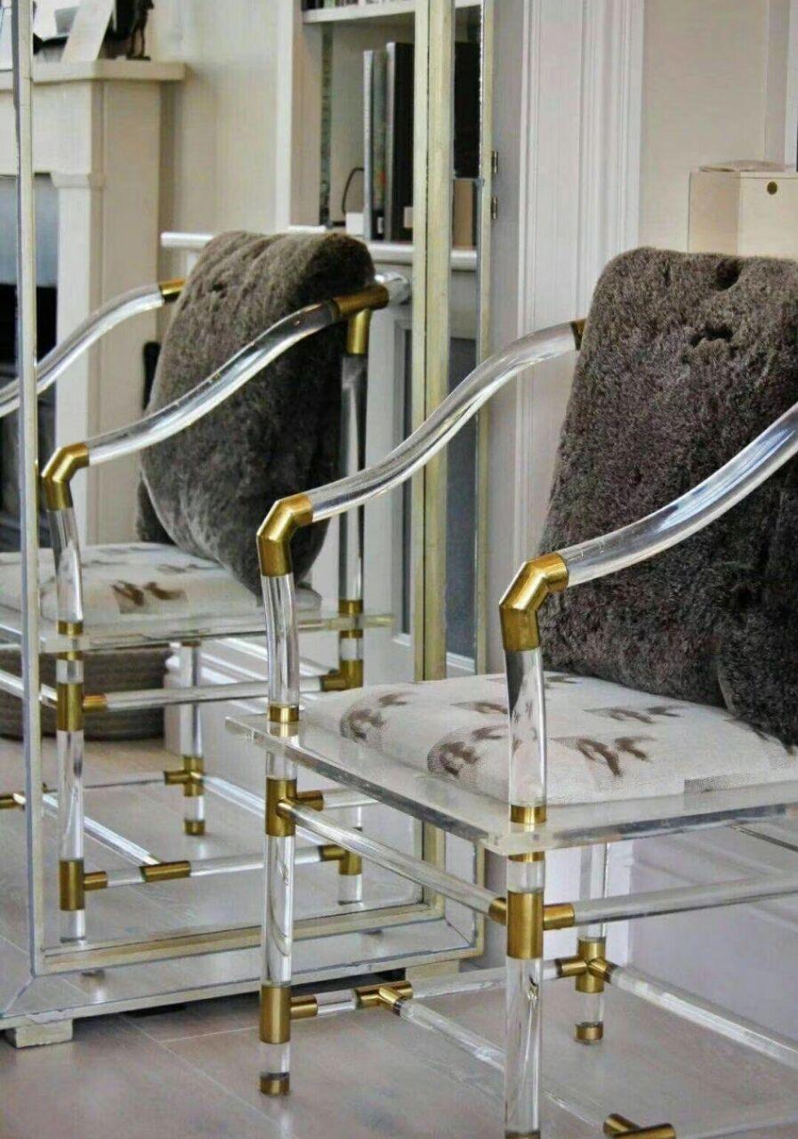 透明压克力古典中式椅子 1