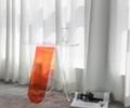 Acrylic rainbow colored end table rainbow acrylic side table 5