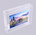 New design wall mount or table top display  magnet acrylic photo frame  (Hot Product - 1*)