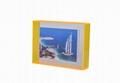 新款墙挂或是摆台悬浮亚克力磁铁相框易拆换