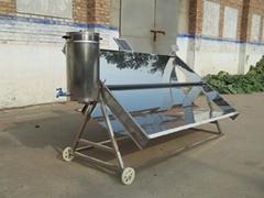 不锈钢自动跟踪式聚光太阳能开水器