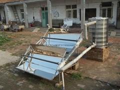 不锈钢自动跟踪式聚光太阳能热水系统