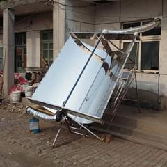 全自动不锈钢聚光式太阳能热风供暖系统