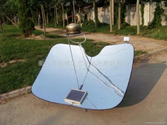 Autotracking type solar cooker of spotlight