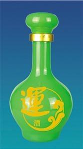 彩色玻璃瓶 4