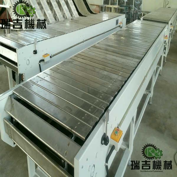 不鏽鋼板鏈輸送機 1