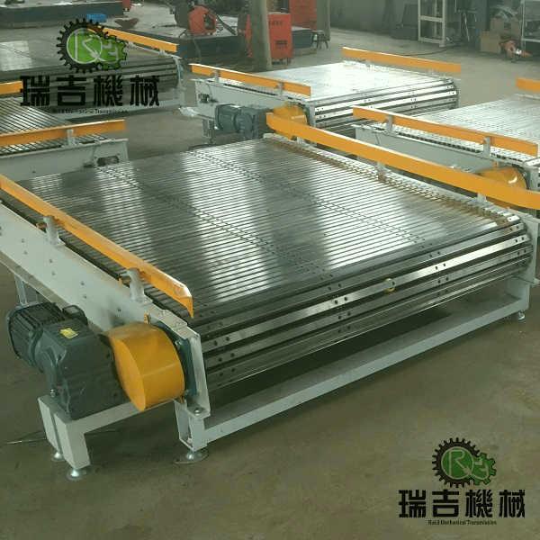 不鏽鋼板鏈輸送機 2