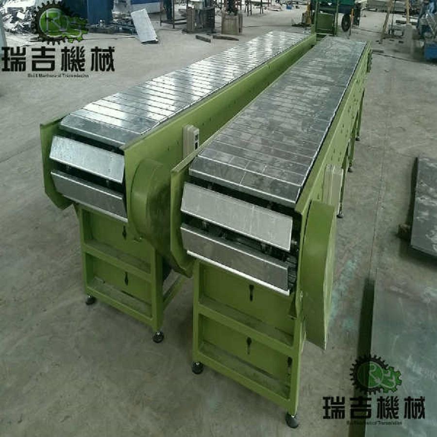 不鏽鋼板鏈輸送機 3