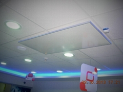 Suspended ceiling heater