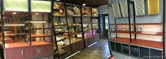 鋼木結構麵包櫃