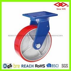超重載鐵芯聚氨酯腳輪