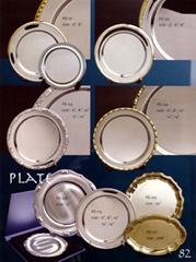 胜利战利品- 奖品纪念品礼品- 银碟锡碟