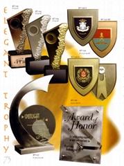 勝利戰利品- 獎品紀念品禮品- 金屬獎座