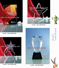 Star-Trophy.Star-Awards.Star-Medals.Star-Trophies.Star-Crystal.